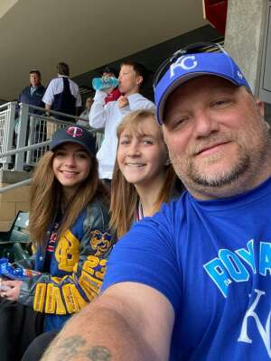 Paul Krumrei attended Minnesota Twins vs. Kansas City Royals - MLB on May 30th 2021 via VetTix