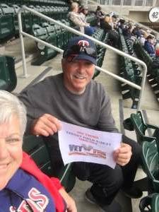 MSG attended Minnesota Twins vs. Kansas City Royals - MLB on May 30th 2021 via VetTix