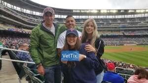 B attended Minnesota Twins vs. Kansas City Royals - MLB on May 30th 2021 via VetTix