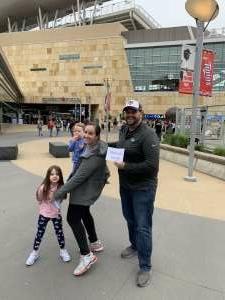 Stephan attended Minnesota Twins vs. Kansas City Royals - MLB on May 30th 2021 via VetTix