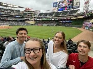 Jaime attended Minnesota Twins vs. Kansas City Royals - MLB on May 30th 2021 via VetTix