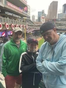 Eric attended Minnesota Twins vs. Kansas City Royals - MLB on May 30th 2021 via VetTix