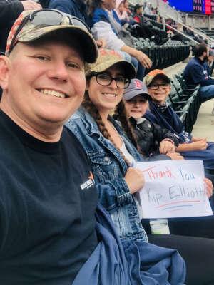 Matthew  attended Minnesota Twins vs. Kansas City Royals - MLB on May 30th 2021 via VetTix