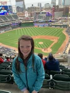 Dave C attended Minnesota Twins vs. Kansas City Royals - MLB on May 30th 2021 via VetTix