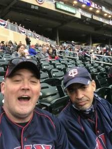 Briangrubb33  attended Minnesota Twins vs. Kansas City Royals - MLB on May 30th 2021 via VetTix