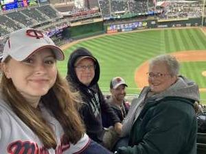 Ian attended Minnesota Twins vs. Kansas City Royals - MLB on May 30th 2021 via VetTix