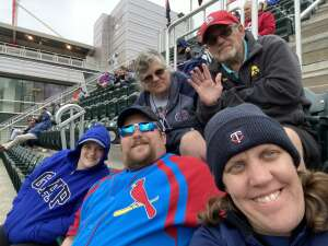 Melissa attended Minnesota Twins vs. Kansas City Royals - MLB on May 30th 2021 via VetTix
