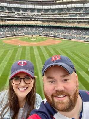Nick Erikson attended Minnesota Twins vs. Kansas City Royals - MLB on May 30th 2021 via VetTix