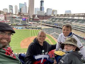 Johnathon Mccauley attended Minnesota Twins vs. Kansas City Royals - MLB on May 30th 2021 via VetTix