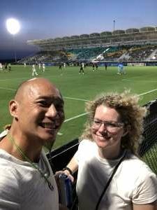 Jen Lee attended Austin Bold FC vs. Real Monarchs - Uslc - Opening Night on May 26th 2021 via VetTix