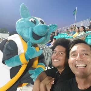 Cali Garcia attended Austin Bold FC vs. Real Monarchs - Uslc - Opening Night on May 26th 2021 via VetTix