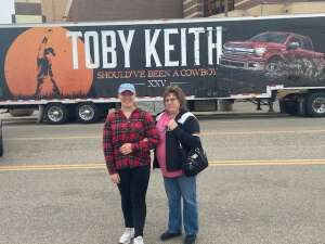 Michael attended Toby Keith: Country Comes to Town Tour on May 21st 2021 via VetTix