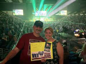 Gary attended Toby Keith: Country Comes to Town Tour on May 21st 2021 via VetTix
