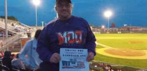 Moo-tastic game!! attended Fremont Moo vs. Sioux Falls Sunfish - Expedition League Baseball on May 26th 2021 via VetTix