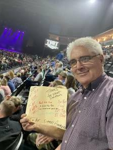 Mike attended Toby Keith Country Comes to Town Tour on May 20th 2021 via VetTix