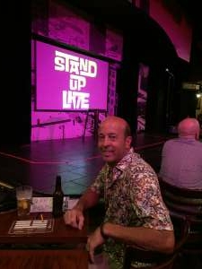 Fred attended Stand Up Live Presents: Tom Papa on Jul 16th 2021 via VetTix
