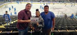 George attended Jacksonville Icemen vs. Florida Everblades - ECHL on May 25th 2021 via VetTix