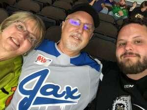 Tom attended Jacksonville Icemen vs. Florida Everblades - ECHL on May 25th 2021 via VetTix