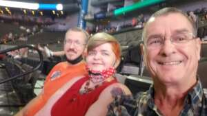 Jerry and C & M attended PBR Unleash the Beast on May 23rd 2021 via VetTix