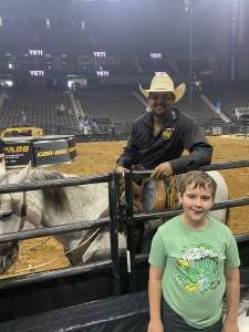 Eric Priest attended PBR Unleash the Beast on May 23rd 2021 via VetTix