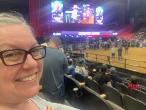 Allison and Rob attended PBR Unleash the Beast on May 23rd 2021 via VetTix