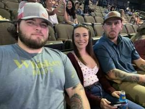 Sgt anderson  attended PBR Unleash the Beast on May 23rd 2021 via VetTix
