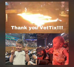 Britney  attended PBR Unleash the Beast on May 23rd 2021 via VetTix