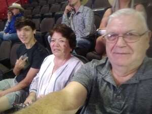 Del Ihle attended PBR Unleash the Beast on May 23rd 2021 via VetTix