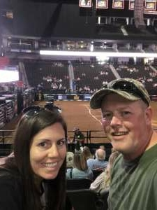 Matt and Amy attended PBR Unleash the Beast on May 23rd 2021 via VetTix