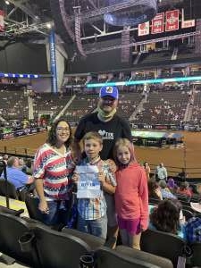 Danny attended PBR Unleash the Beast on May 23rd 2021 via VetTix