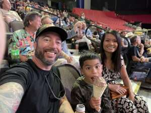 Nick attended PBR Unleash the Beast on May 23rd 2021 via VetTix