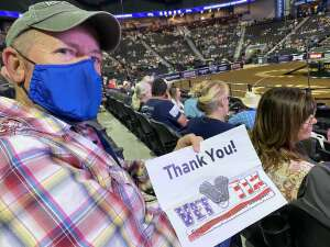 Curtis attended PBR Unleash the Beast on May 22nd 2021 via VetTix