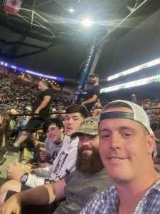 Ryan attended PBR Unleash the Beast on May 22nd 2021 via VetTix