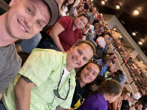 Sarah Clifton attended PBR Unleash the Beast on May 22nd 2021 via VetTix