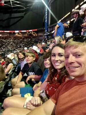 Autumn attended PBR Unleash the Beast on May 22nd 2021 via VetTix