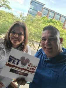 Ray attended PBR Unleash the Beast on May 22nd 2021 via VetTix