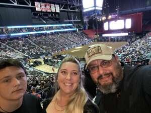 Amanda Herazo attended PBR Unleash the Beast on May 22nd 2021 via VetTix