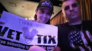 JR attended Special Even Week With Ventriloquist Jay Johnson on Jun 24th 2021 via VetTix