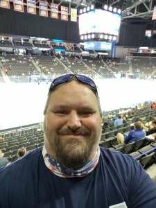 Rob attended Jacksonville Icemen vs. Orlando Solar Bears - ECHL on Jun 1st 2021 via VetTix