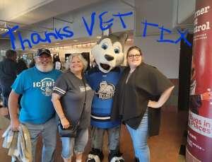 AZ2 (Ret) Stearns attended Jacksonville Icemen vs. Orlando Solar Bears - ECHL on Jun 1st 2021 via VetTix