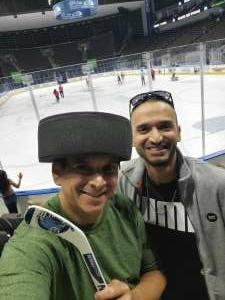 Nicolas B attended Jacksonville Icemen vs. Orlando Solar Bears - ECHL on Jun 1st 2021 via VetTix