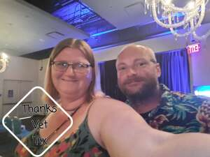Cary attended Special Even Week With Ventriloquist Jay Johnson on Jun 26th 2021 via VetTix