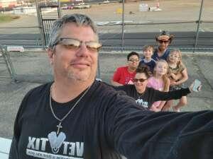 Gary  attended Tucson Speedway Ice Breaker - Race the Temp! - Super Late Models, Outlaw Late Models, Hobby Stocks and Bandolero Bandits on Jun 5th 2021 via VetTix