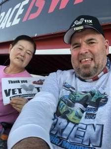 Jerry attended Freaky Fast Races - Father's Day Thunder Trucks, Modifieds, Pro Stocks, Hornets, Mini-stocks on Jun 19th 2021 via VetTix