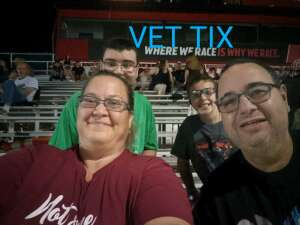 Sebastian attended Summer Sizzle Thunder -Trucks, Modifieds, Pro Stocks, Hornets on Jul 17th 2021 via VetTix