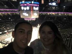 J Perez attended Brooklyn Nets vs. Boston Celtics - NBA - First Round Playoffs! ** Vaccinated Fan Section Only ** on May 22nd 2021 via VetTix