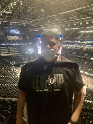 Chris attended Brooklyn Nets vs. Boston Celtics - NBA - First Round Playoffs! ** Vaccinated Fan Section Only ** on May 22nd 2021 via VetTix
