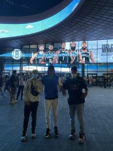 darivette marrero attended Brooklyn Nets vs. Boston Celtics - NBA - First Round Playoffs! ** Vaccinated Fan Section Only ** on May 22nd 2021 via VetTix