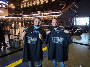 Frank Ballou attended Brooklyn Nets vs. Boston Celtics - NBA - First Round Playoffs! ** Vaccinated Fan Section Only ** on May 22nd 2021 via VetTix