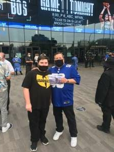 Peter attended Brooklyn Nets vs. Boston Celtics - NBA - First Round Playoffs! ** Vaccinated Fan Section Only ** on May 22nd 2021 via VetTix
